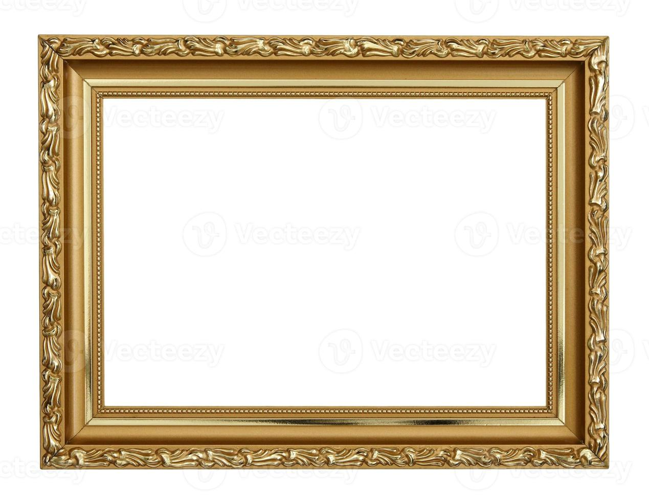 moldura de ouro foto