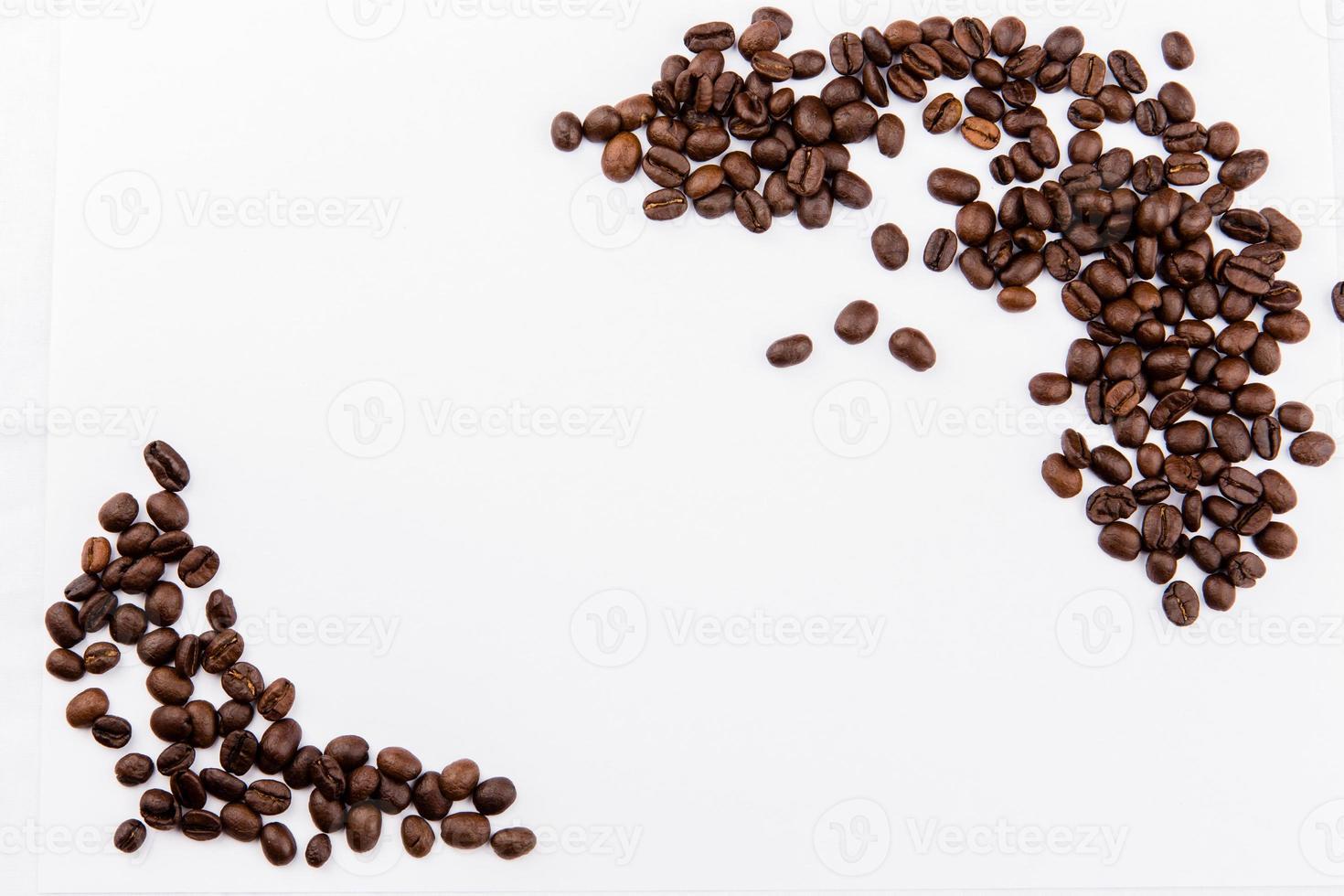moldura de grão de café foto