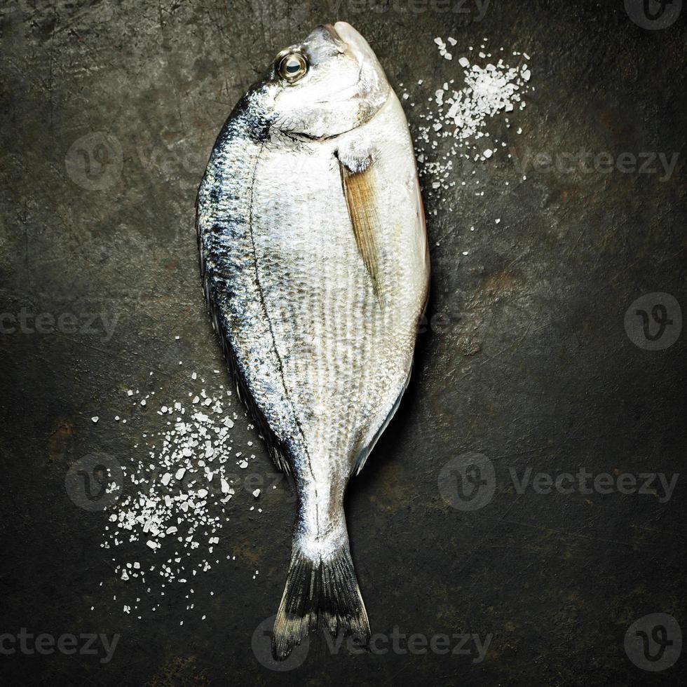 peixe fresco delicioso foto