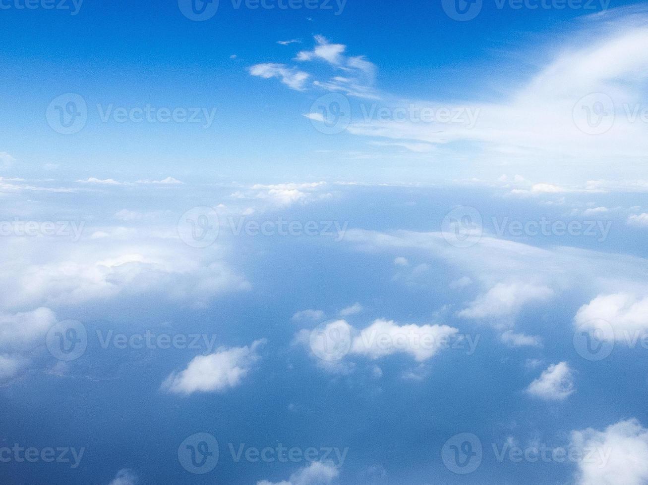 céu de lente suave foto