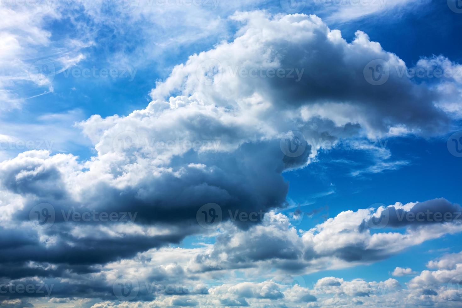 Nuvem de tempestade foto