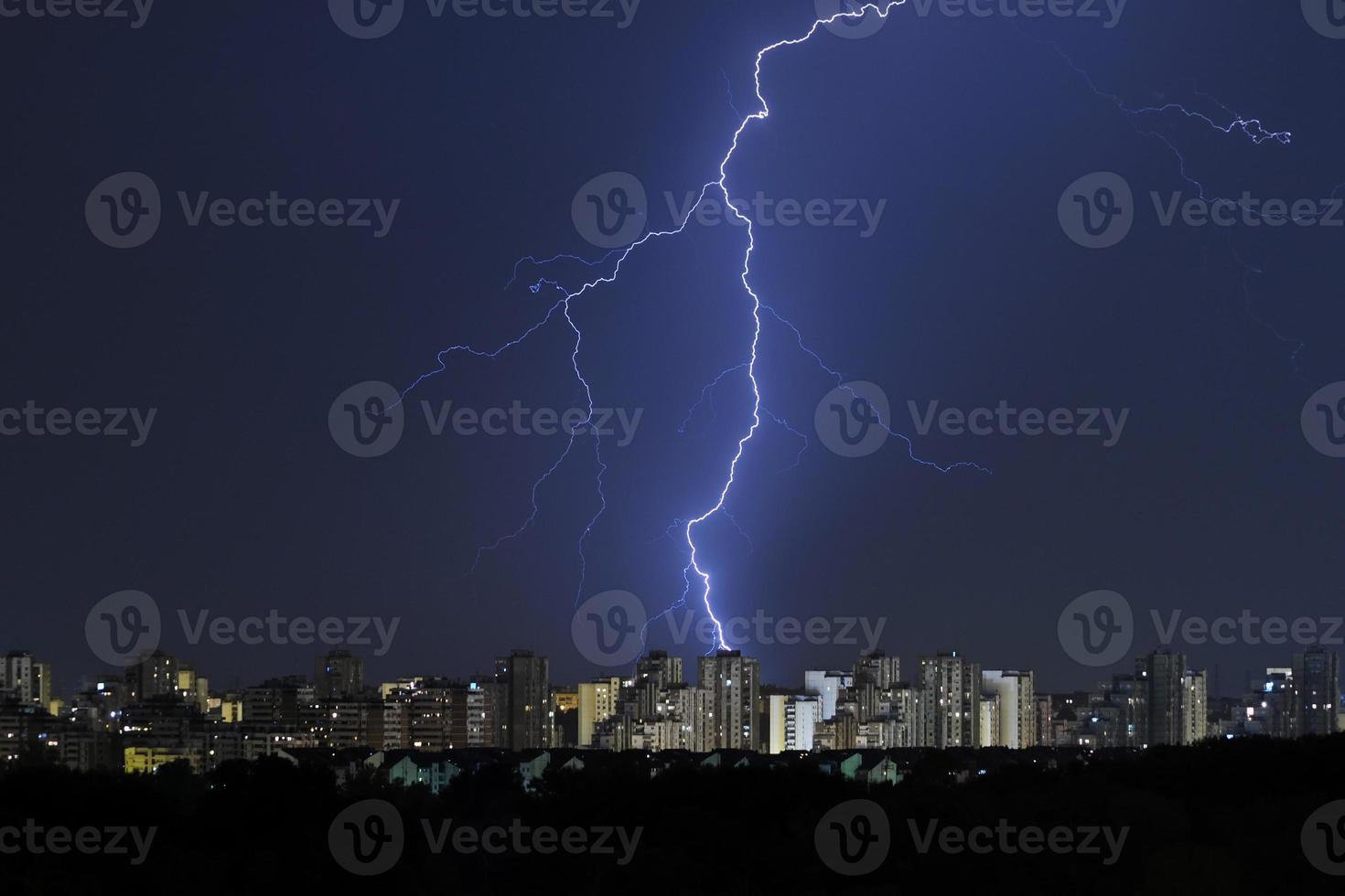 luz divina, tempestade está chegando foto