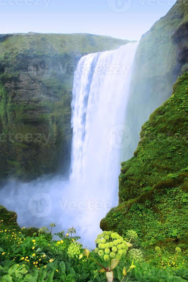 cachoeira seljalandsfoss foto