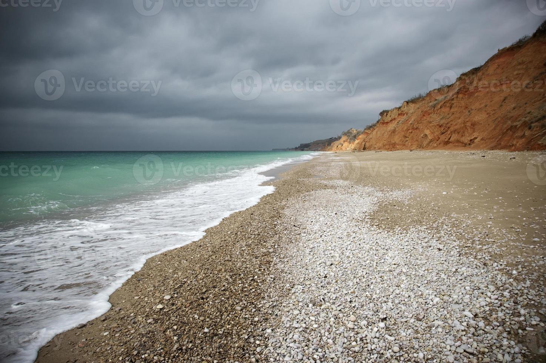areia da praia foto