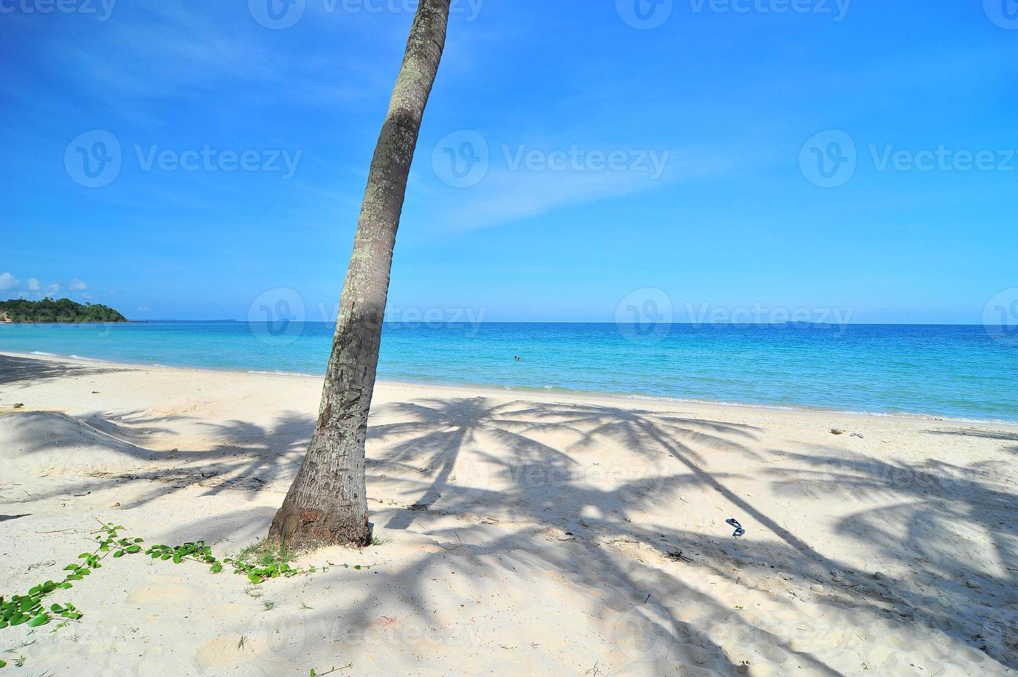lindo mar na Tailândia. foto