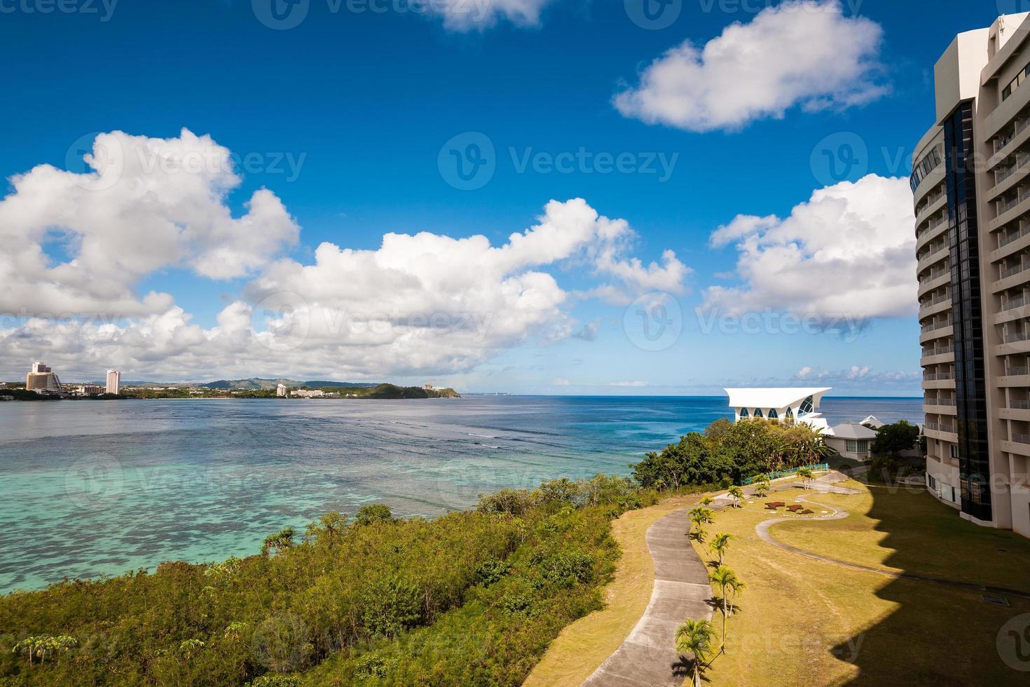 Baía de Tumon em Guam foto