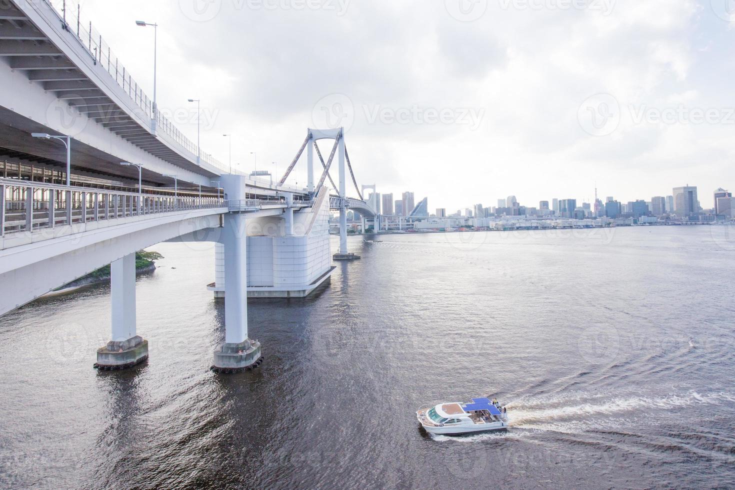 ponte do arco-íris no Japão foto