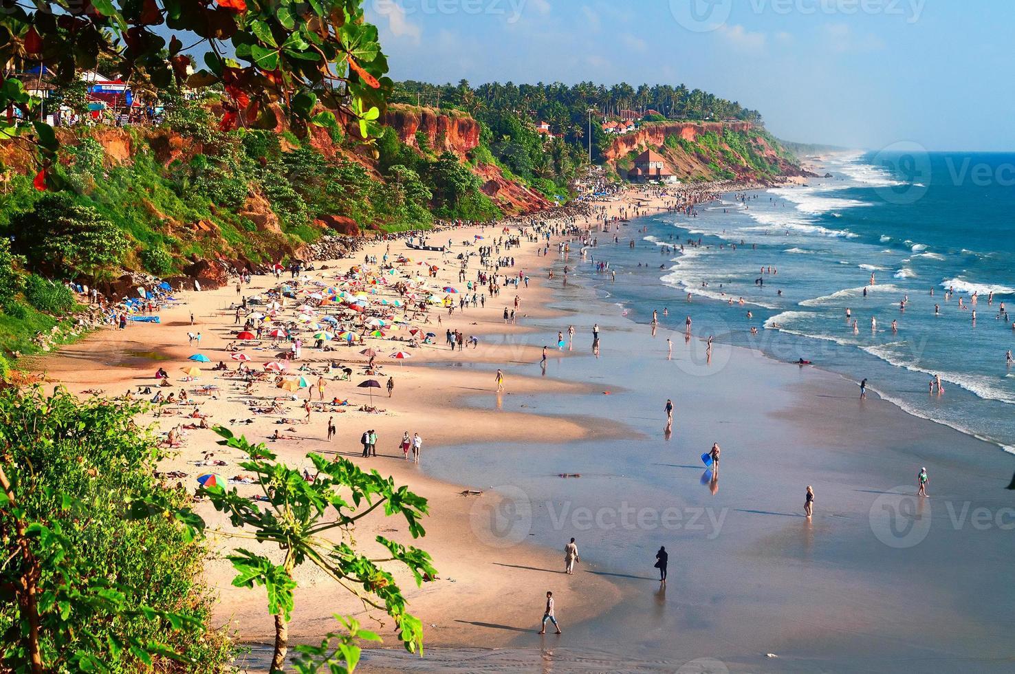 praia de Varkala foto