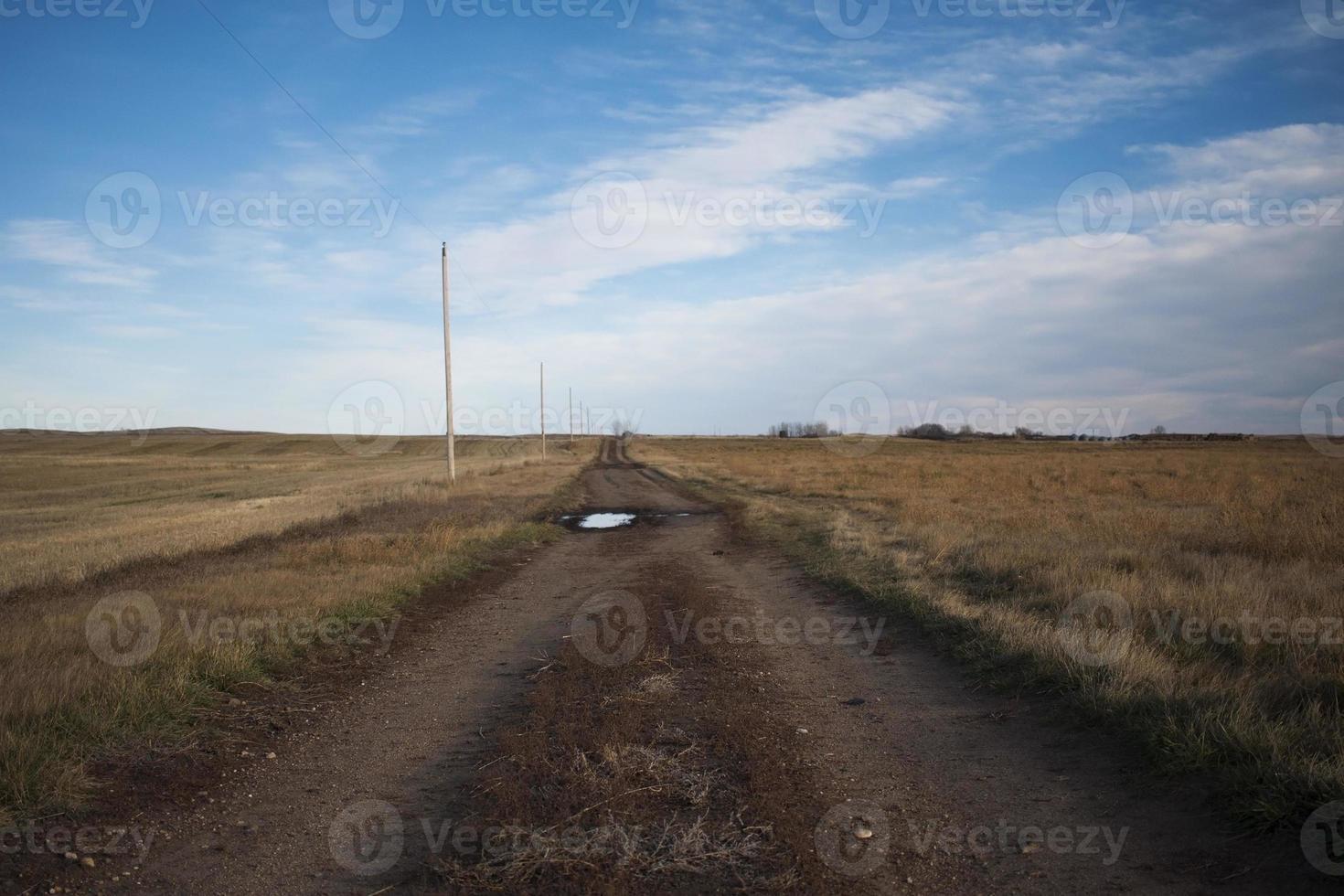 estradas de terra foto