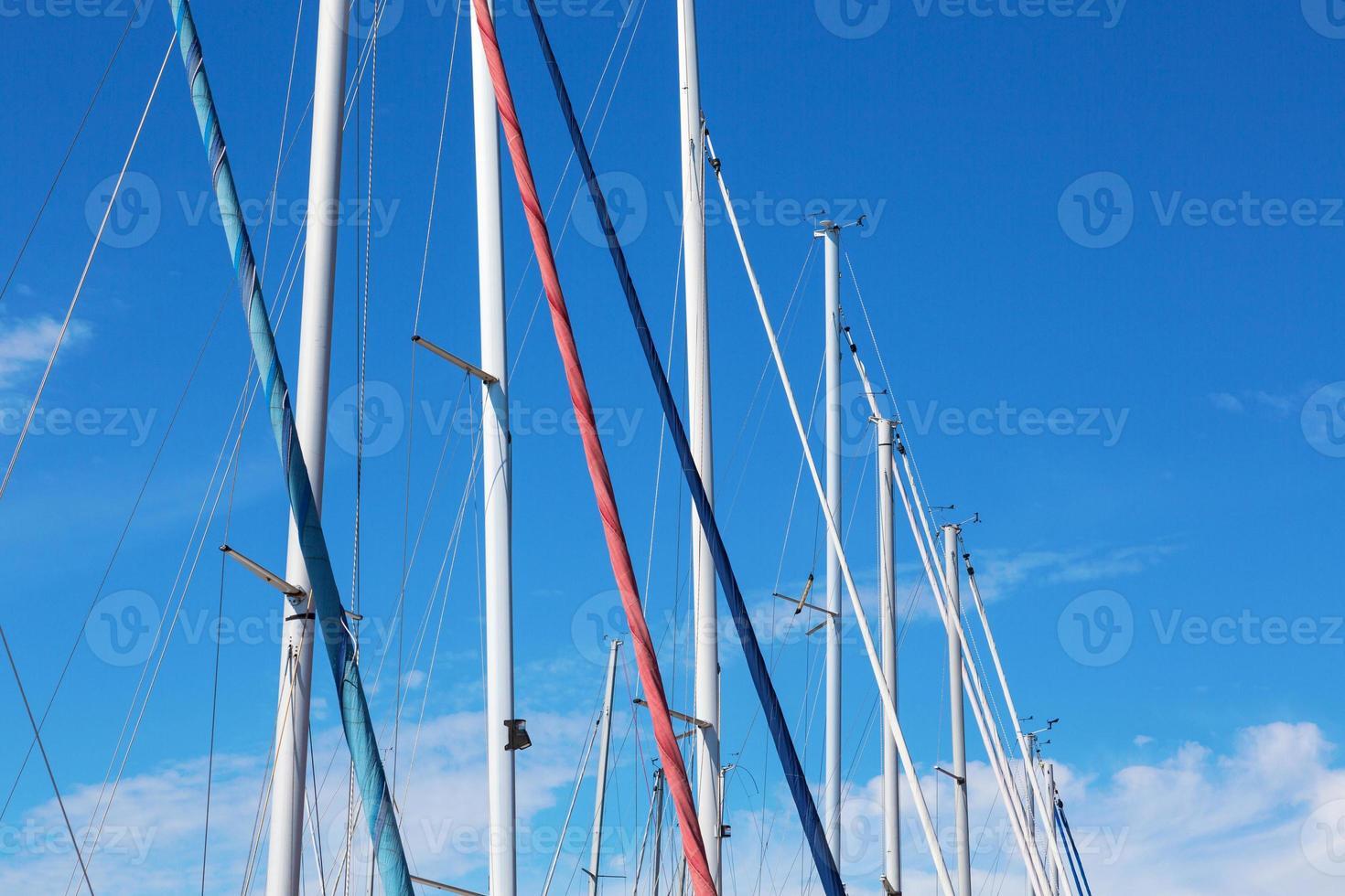 mastros de barco foto