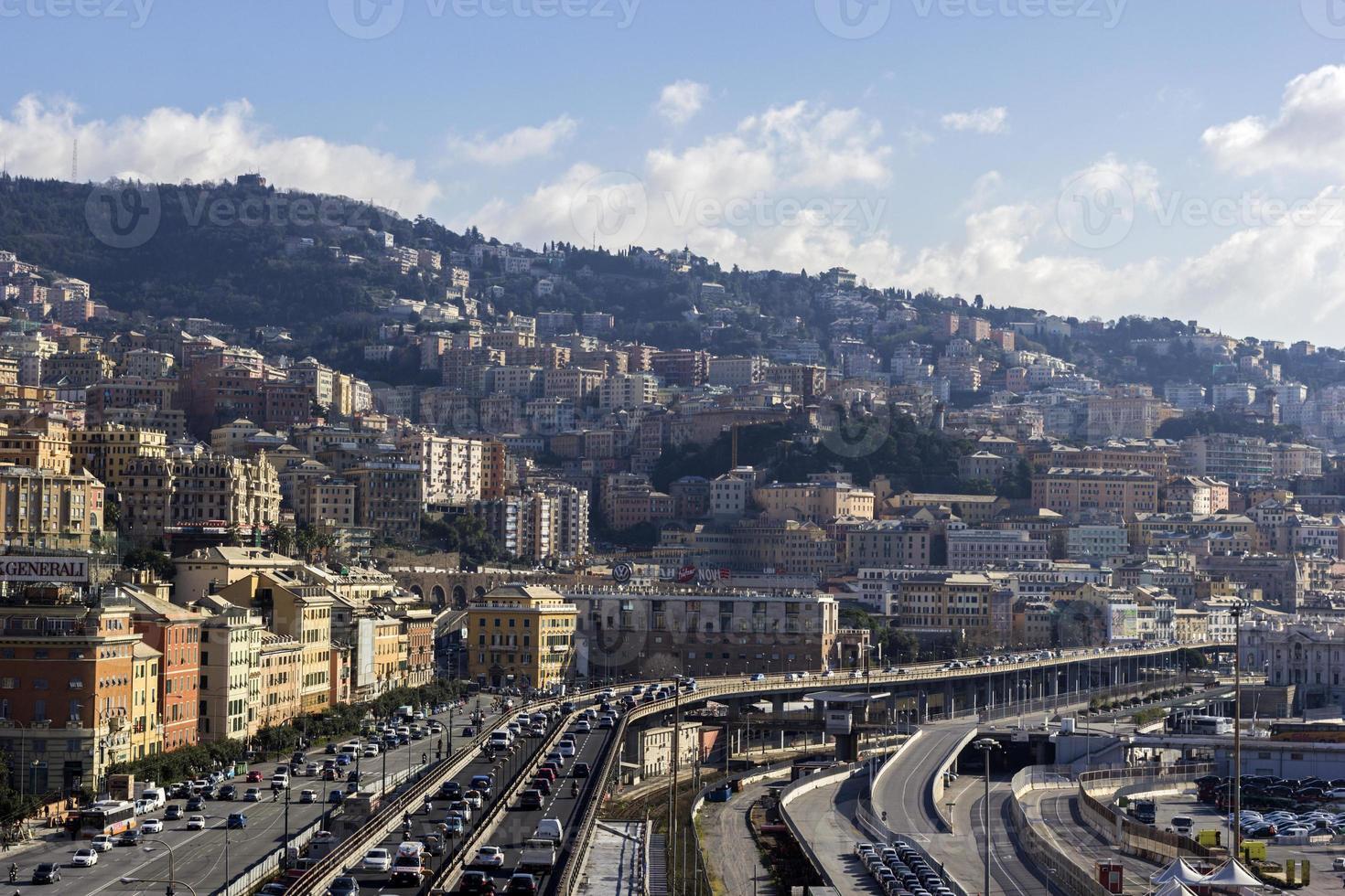 Gênova na Itália foto