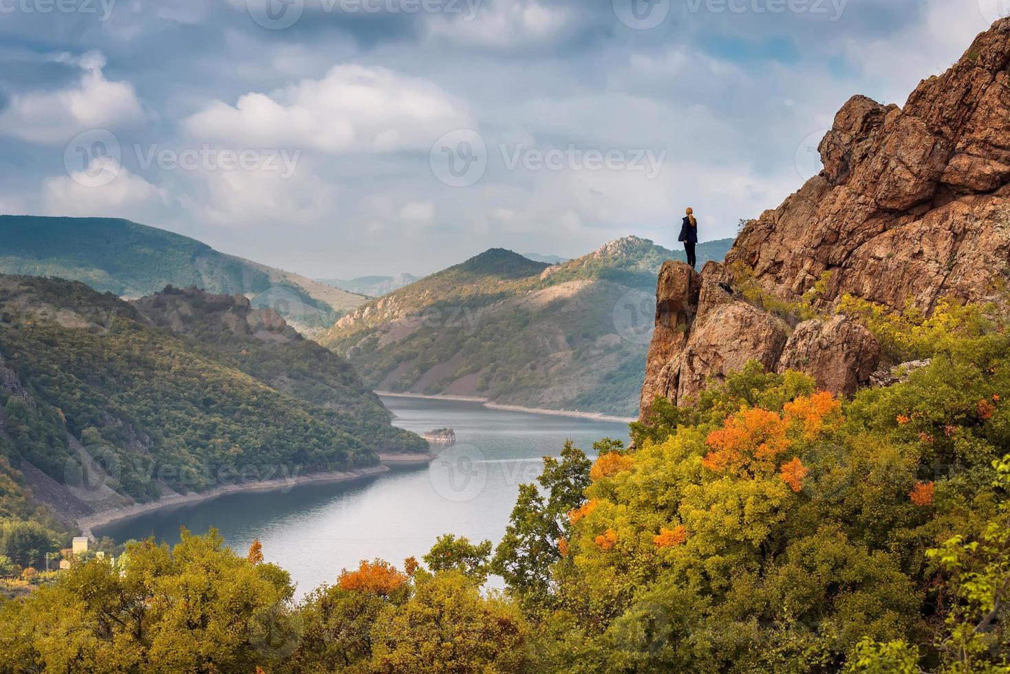 outono do topo foto