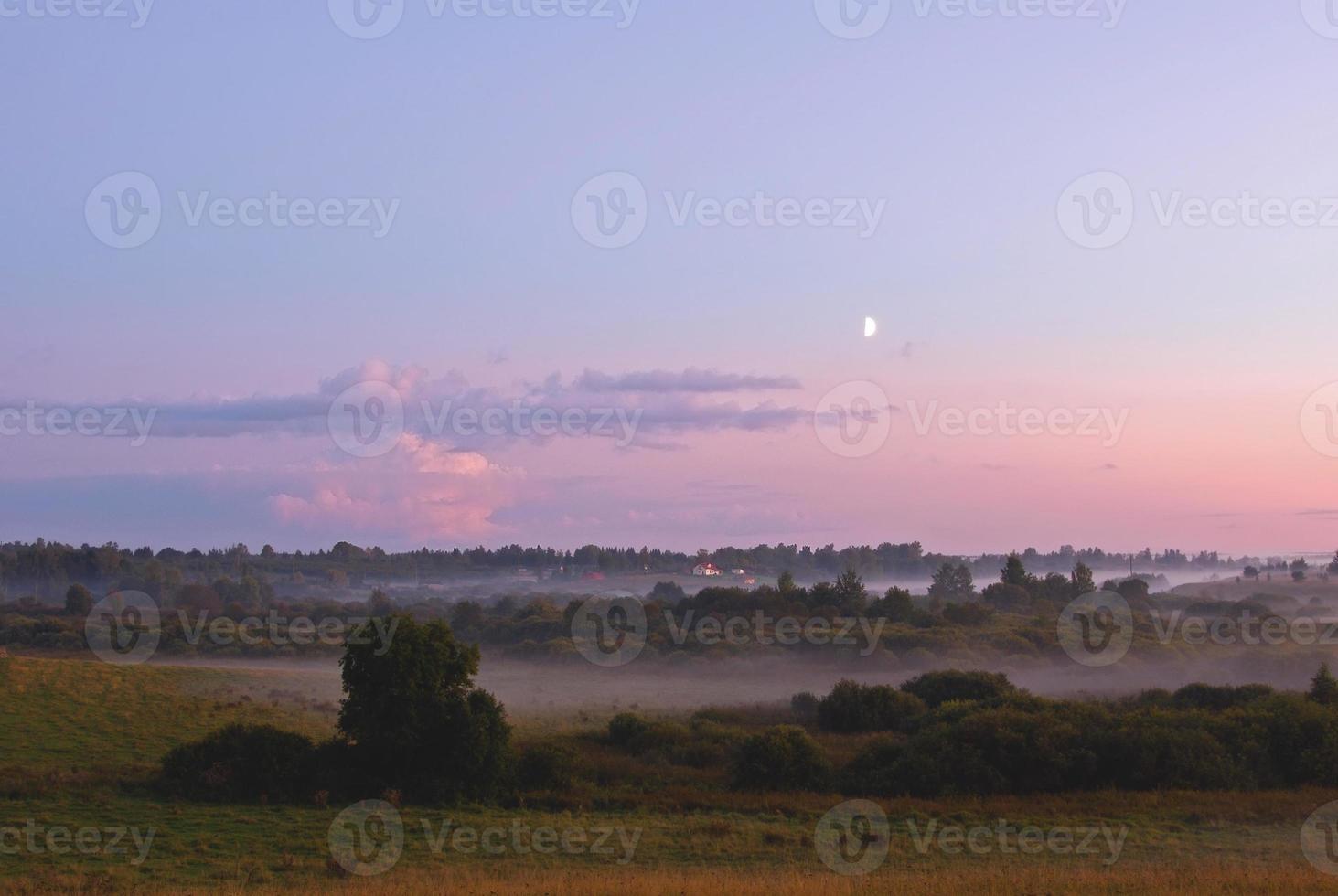 nevoeiro de verão foto