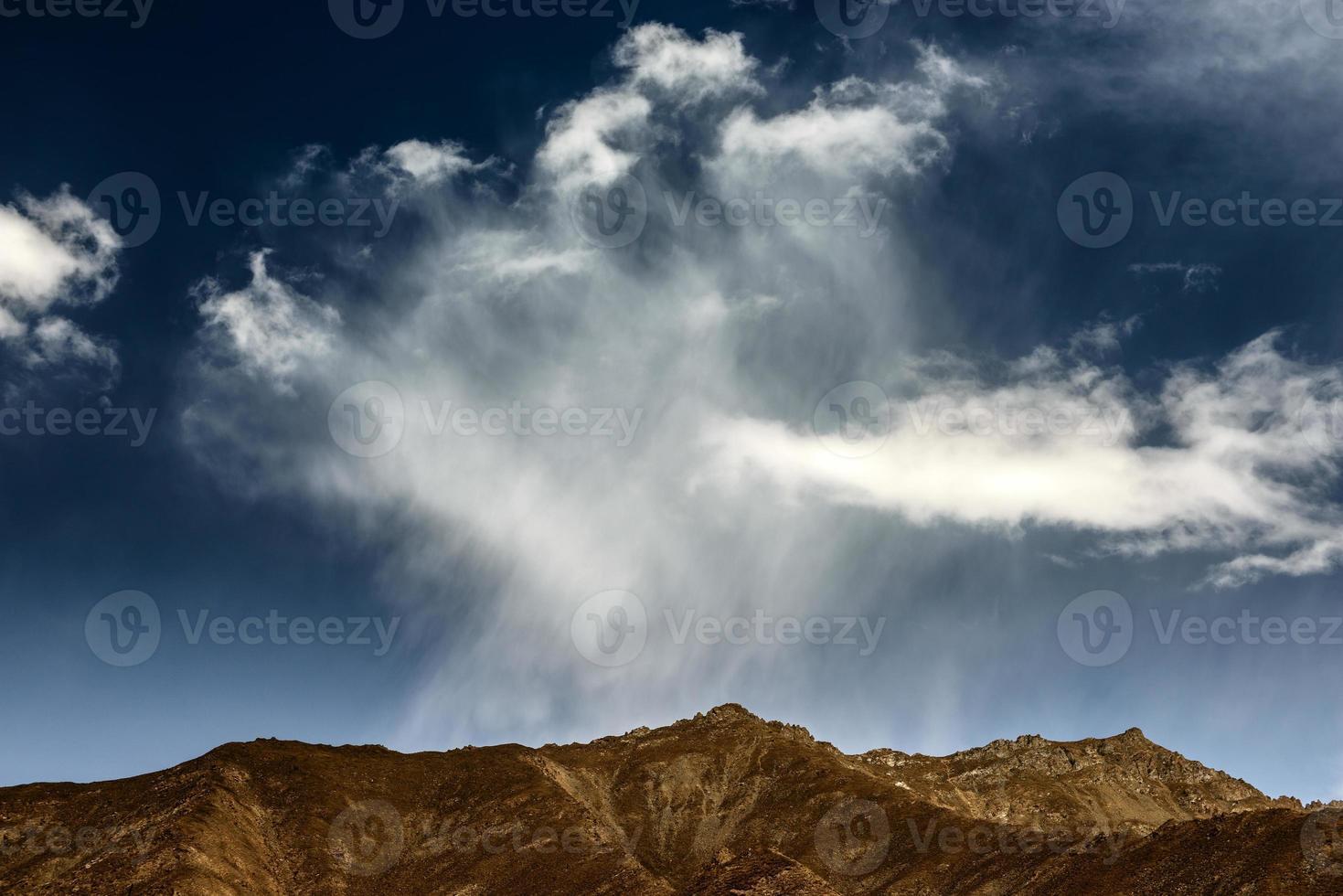cenário no Tibete foto