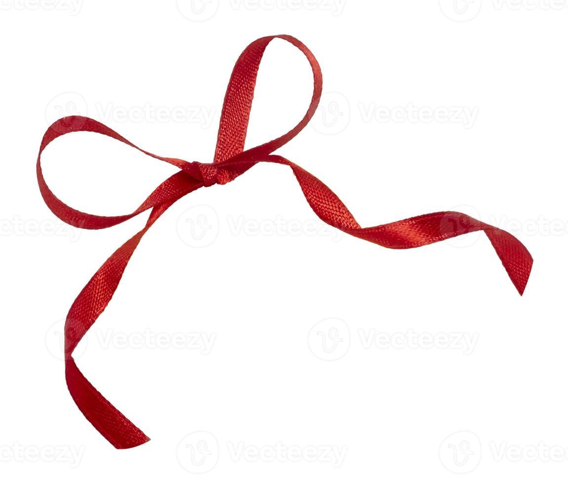 fita vermelha comemoração natal aniversário foto
