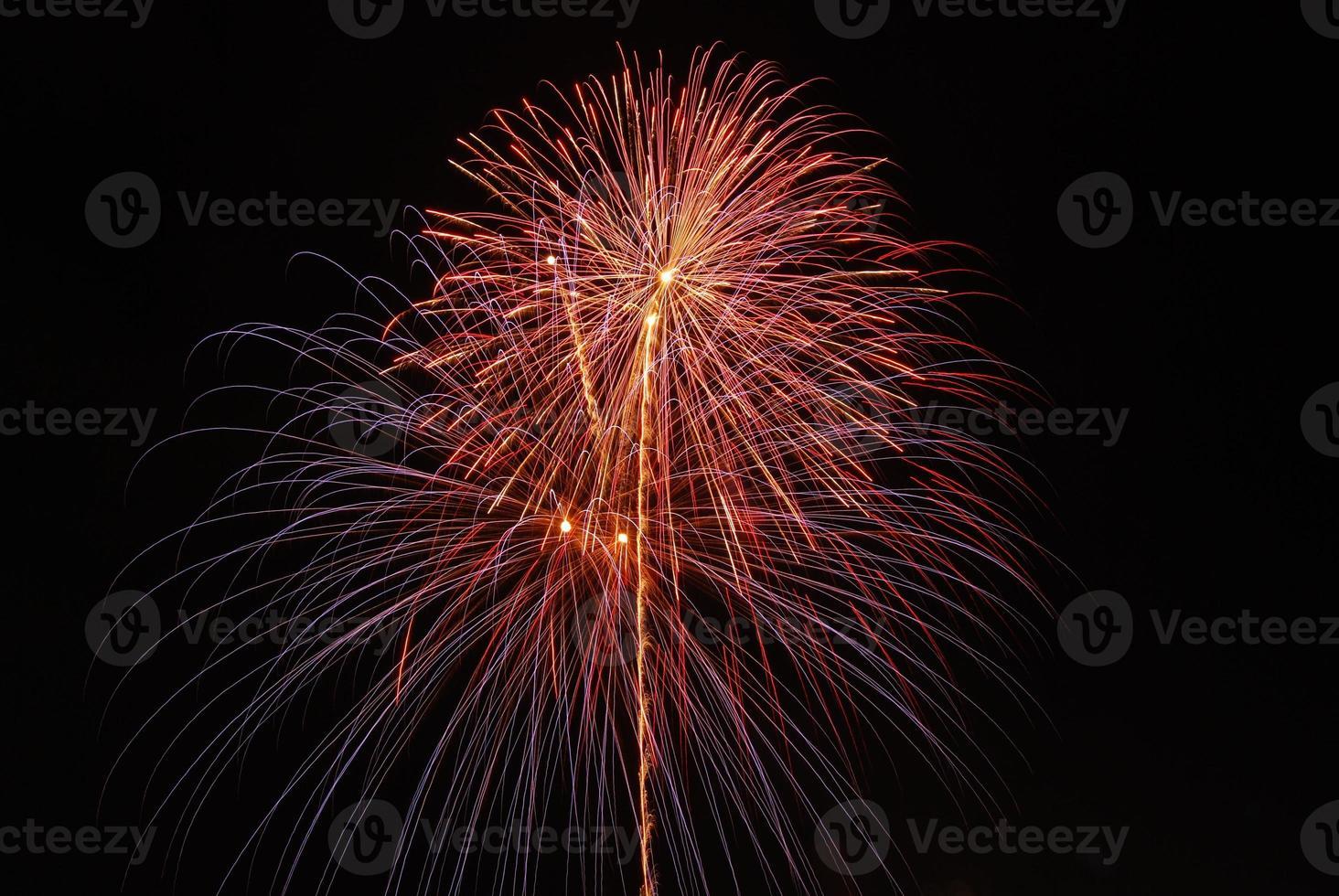 fogos de artifício no dia dos pais foto