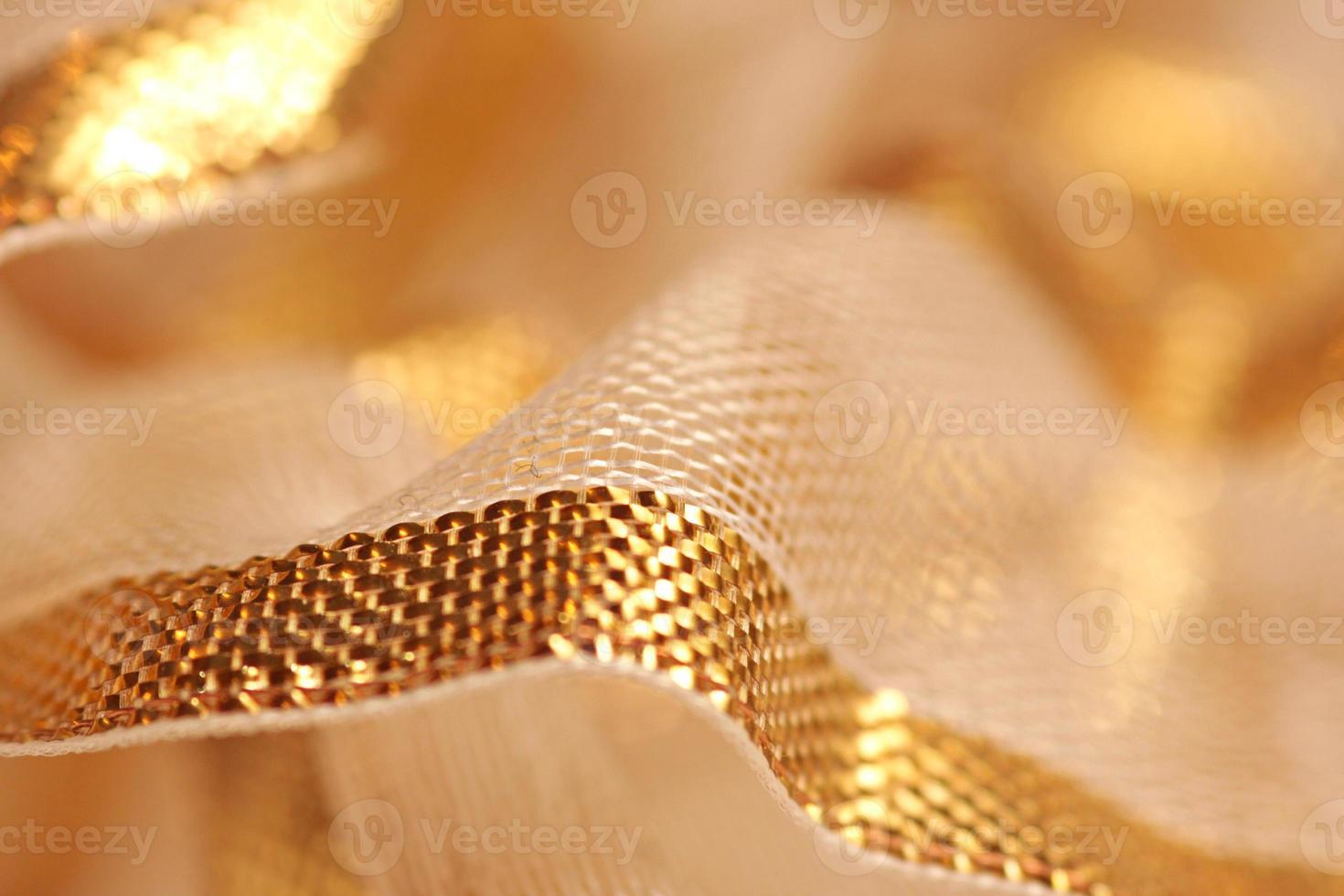 fita dourada foto