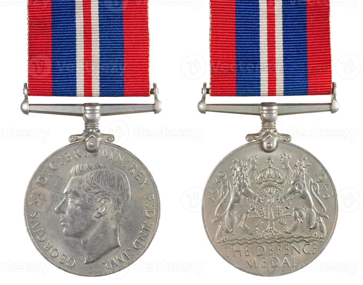 a medalha de defesa foto