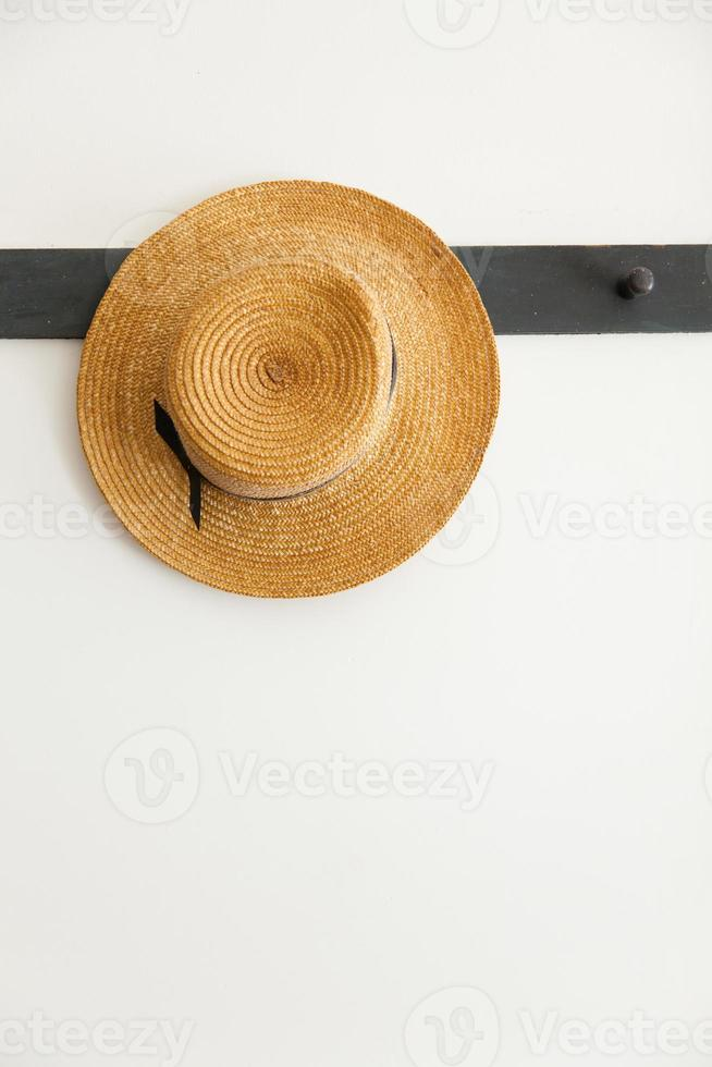chapéu de palha foto