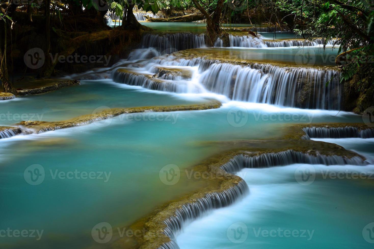 cachoeira kuang si, luang prabang, laos foto