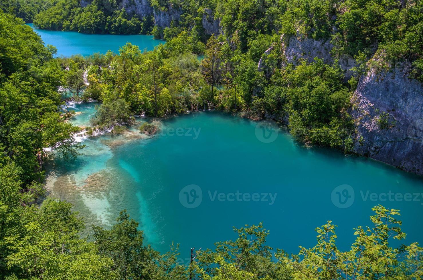 cascata nos lagos plitvice foto