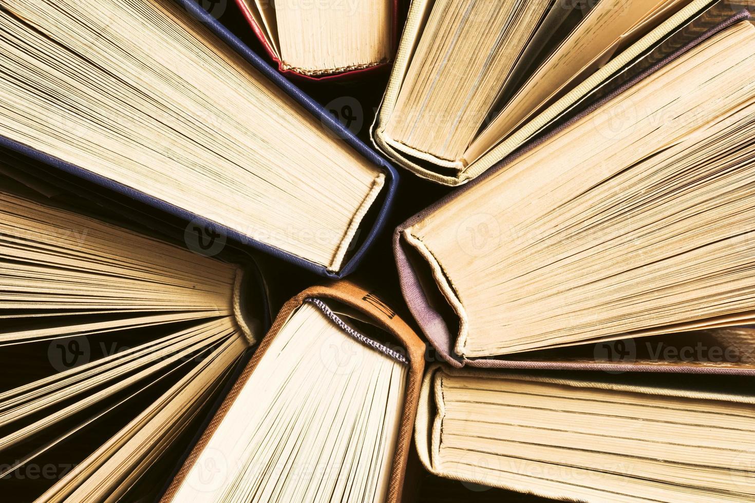 livros de fundo. foto