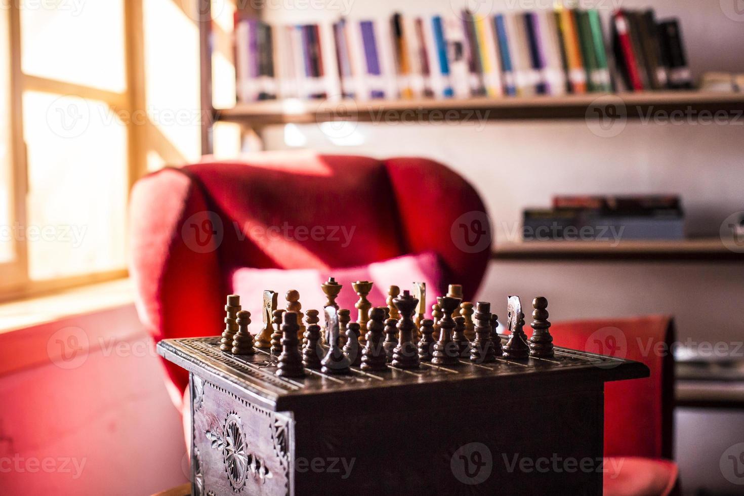 xadrez preto ou branco foto