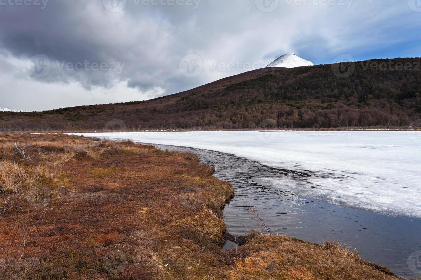 parque nacional tierra del fuego, patagônia, argentina foto