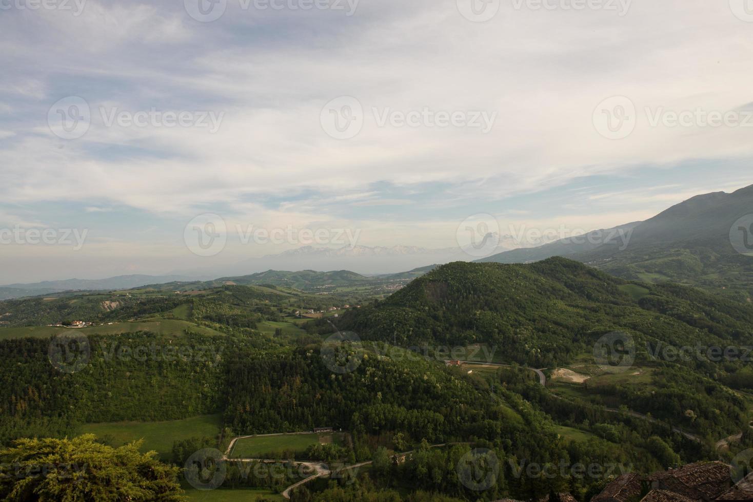 panorama abruzês foto