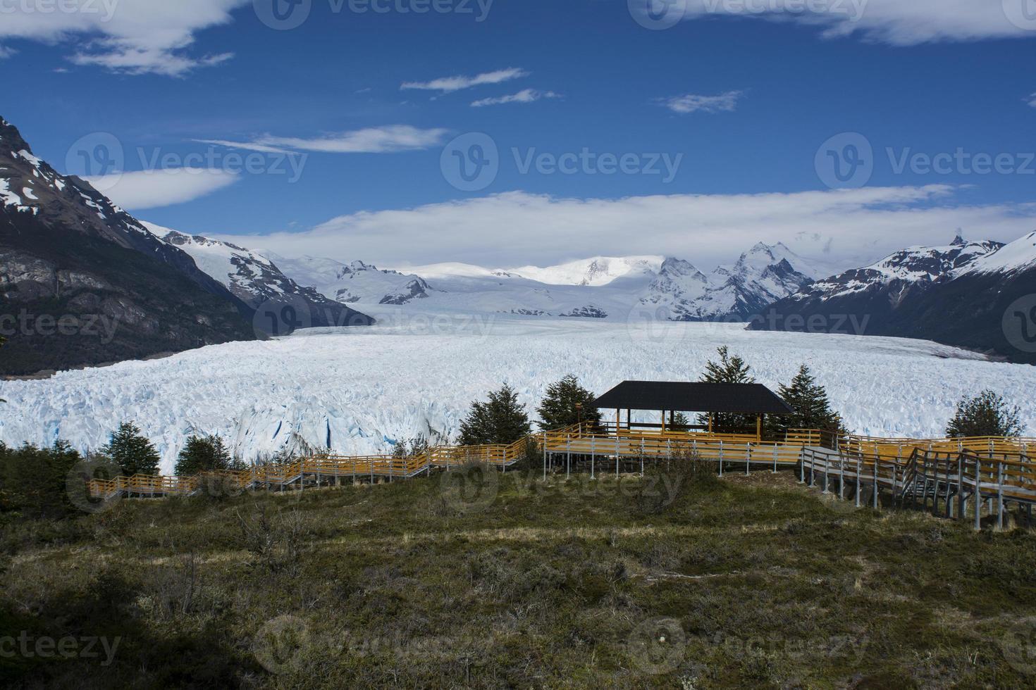 ampla geleira na argentina foto