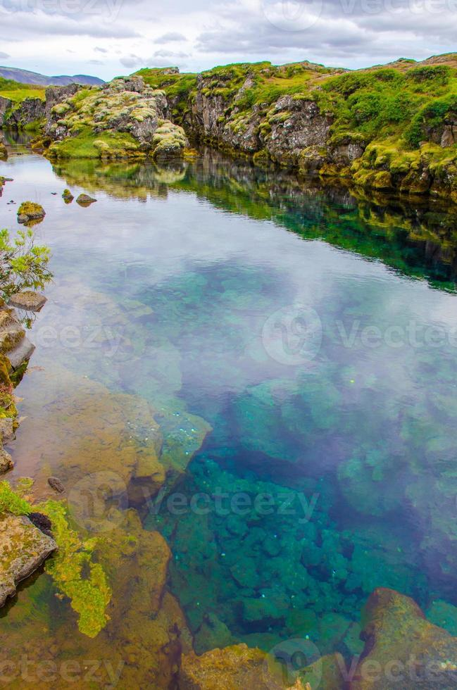 pingvellir - nationalpark island foto