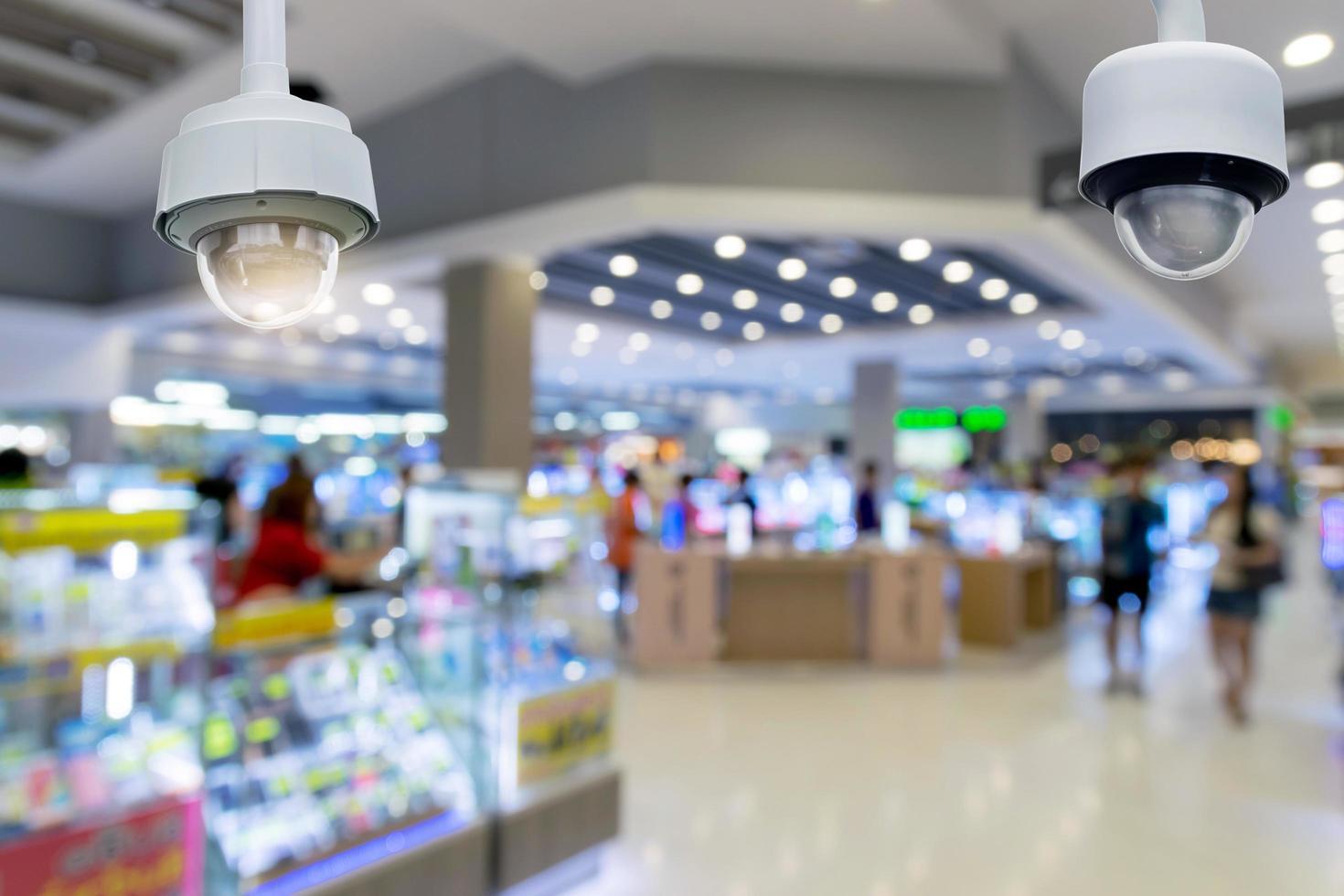 câmera de segurança cctv foto