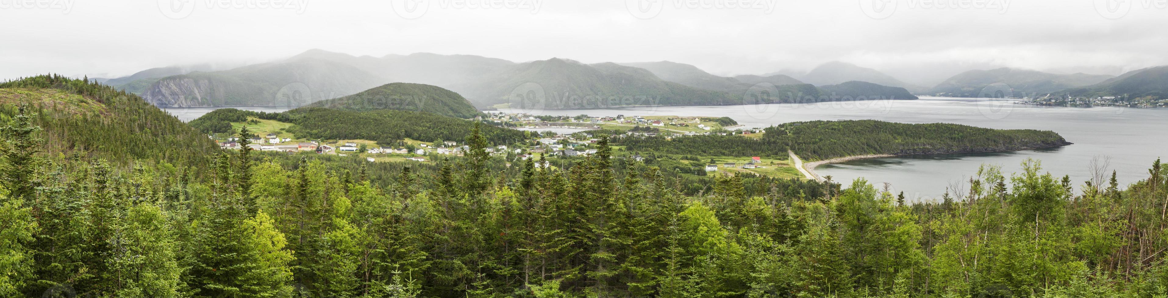 Bonne Bay e Norris Point Panorama foto