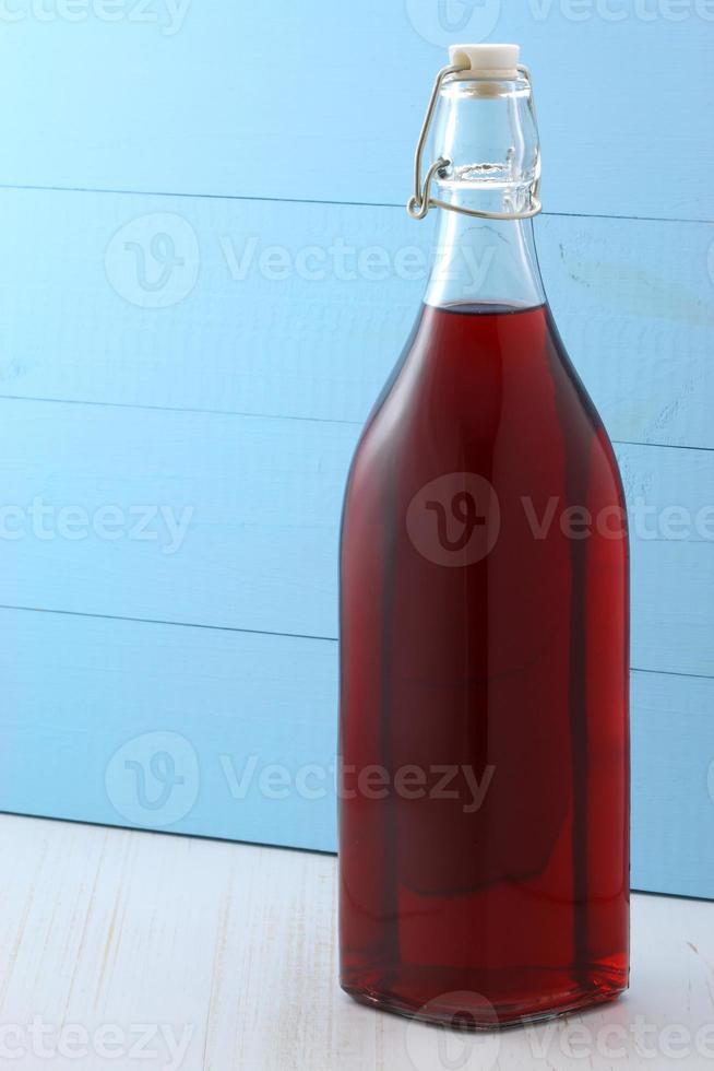 delicioso suco de cranberry foto