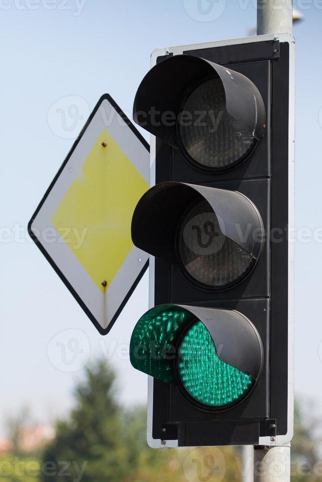 luzes de trânsito foto