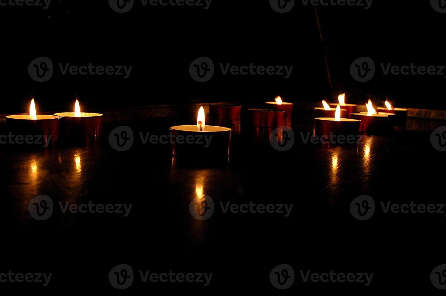 candele votiva foto