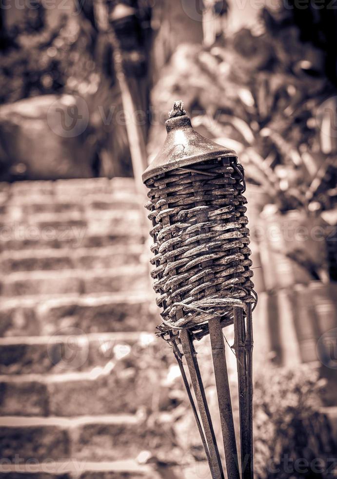 tocha no cemitério mexicano foto