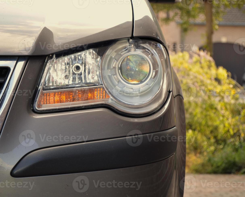 Luz do carro foto