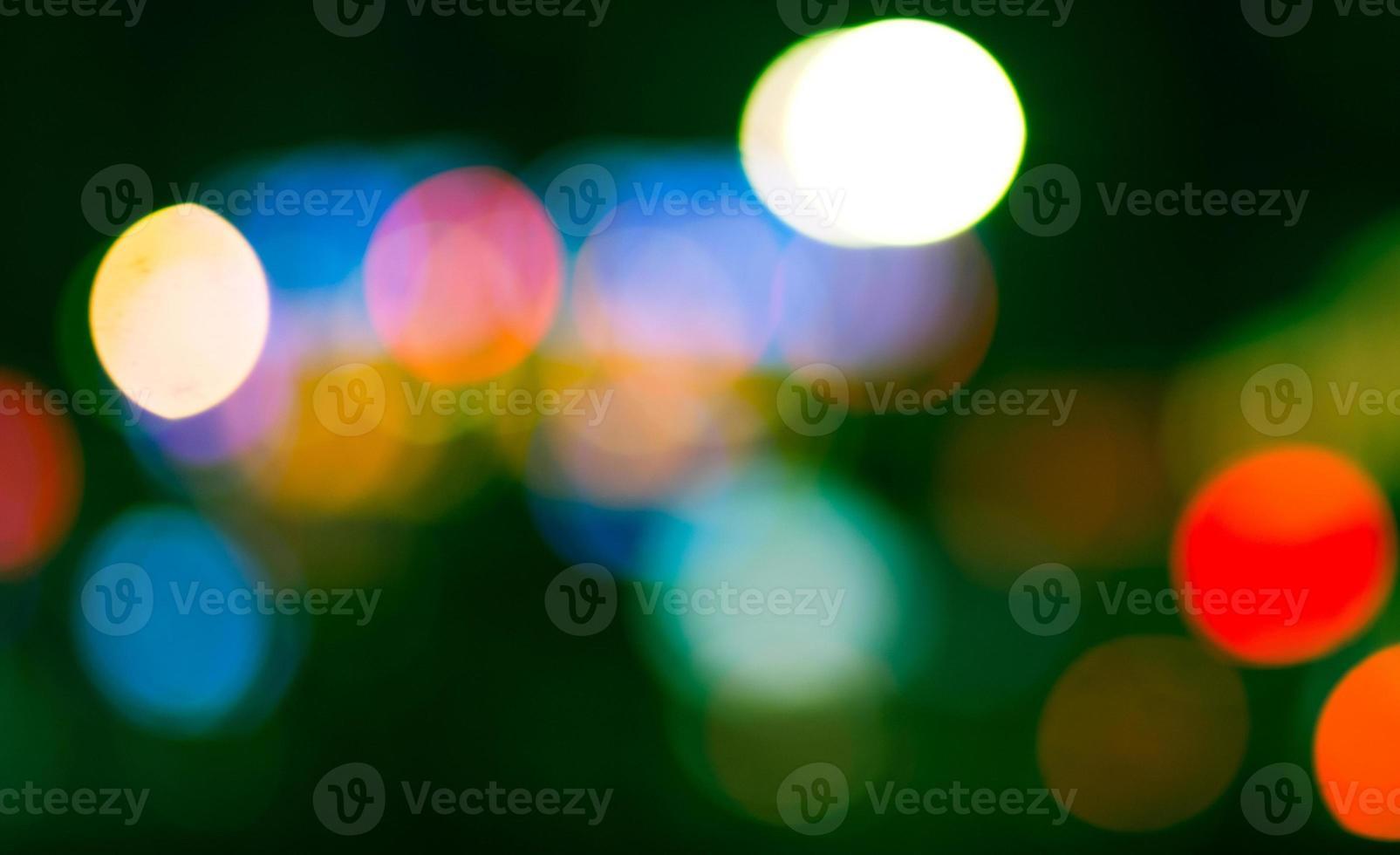 luzes de bokeh foto