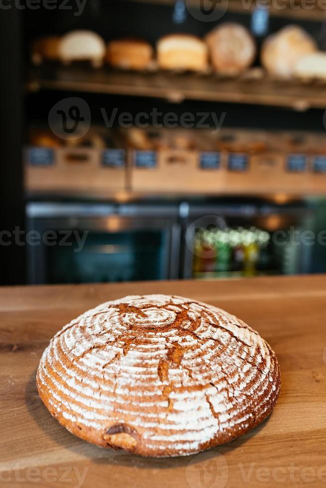 pão crocante foto