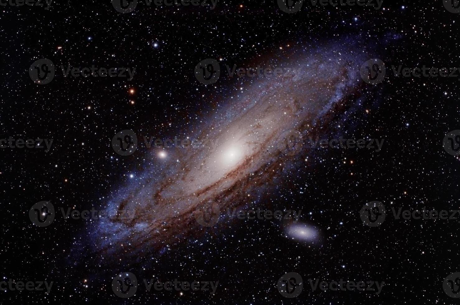 galáxia de andromeda foto