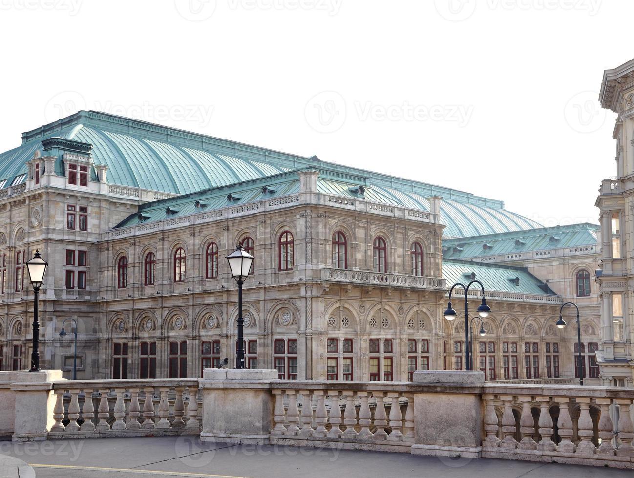 ópera estadual de viena áustria foto