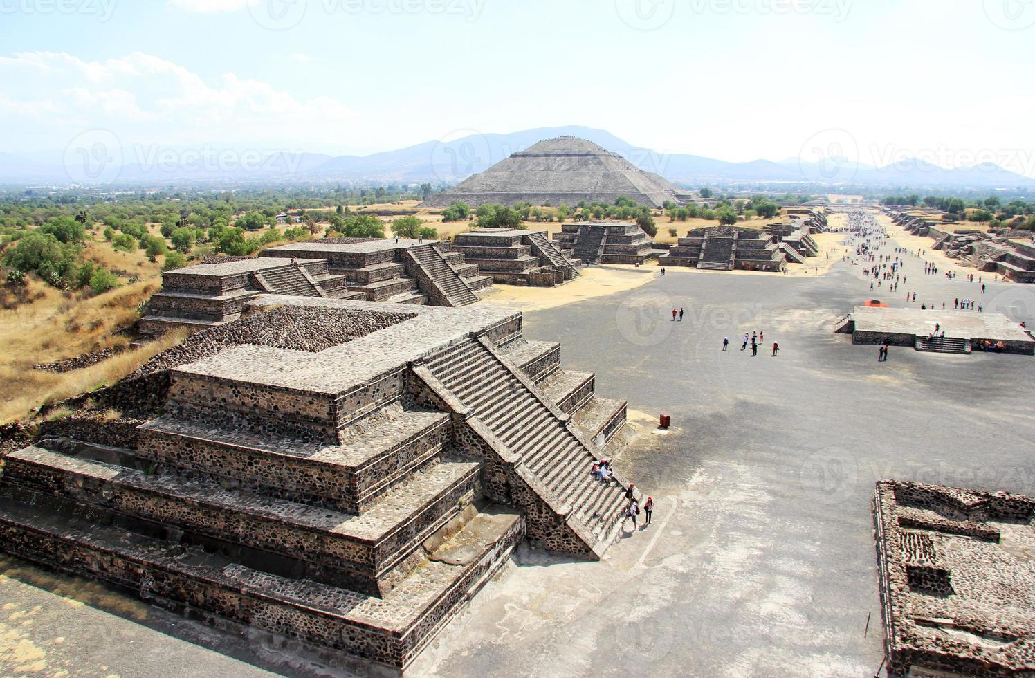 Teotihuacan, México foto