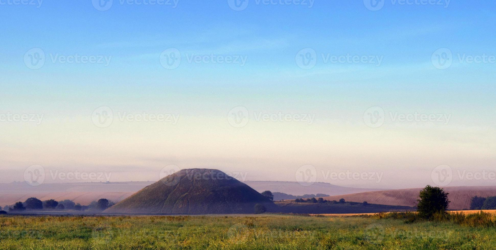 misteriosa colina silbury foto