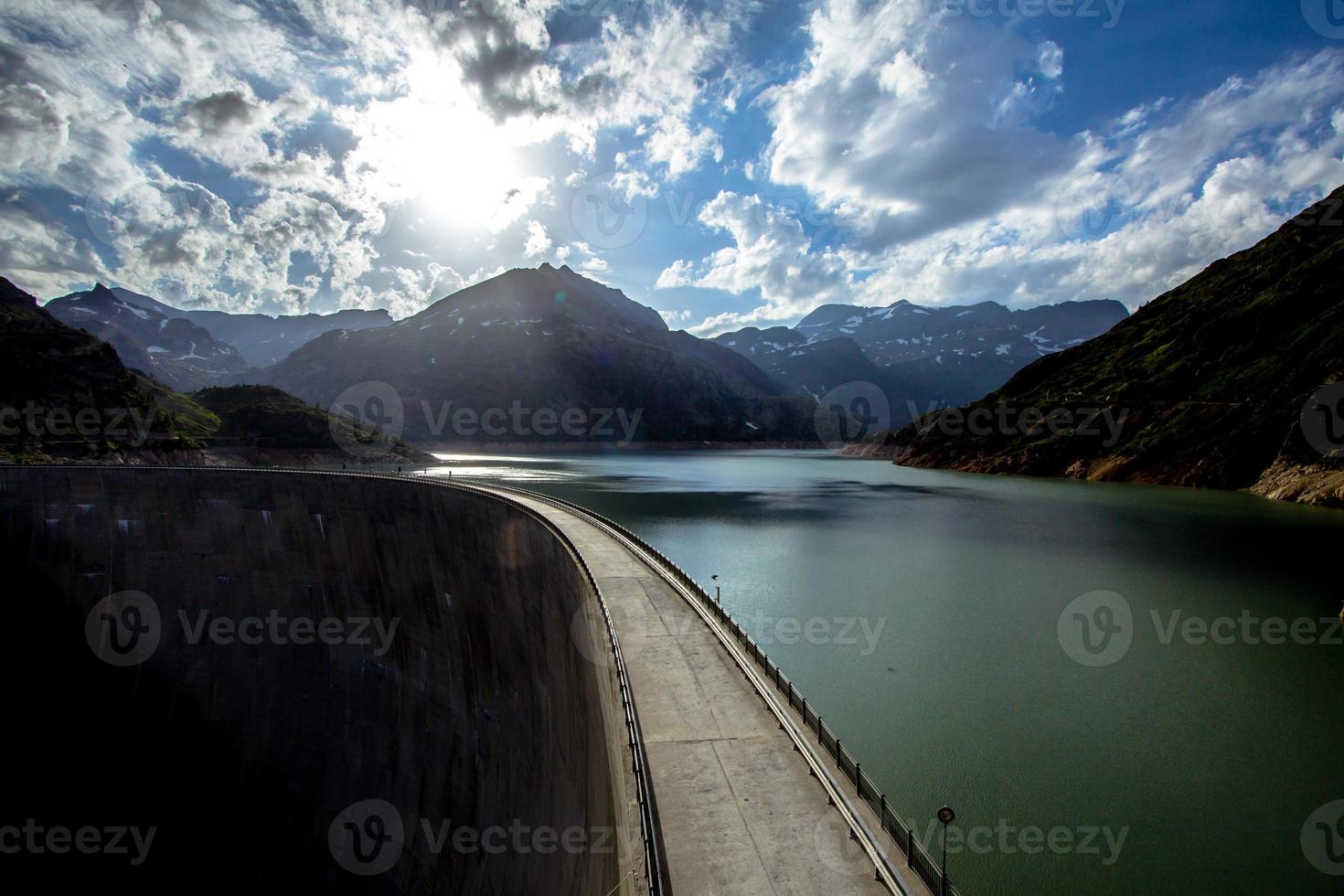 lac d'emosson foto