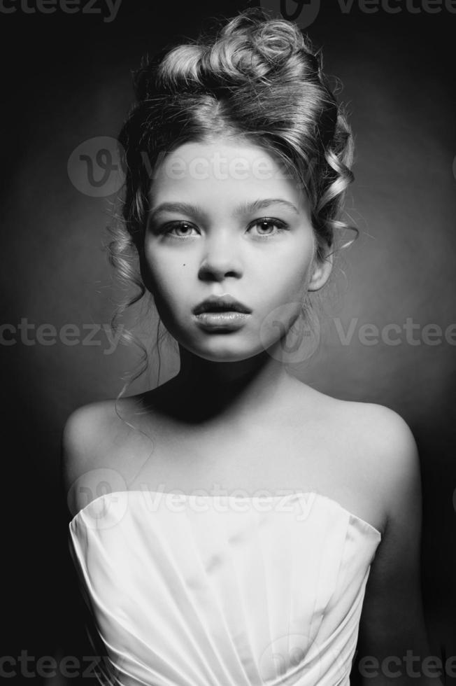 linda menina princesa foto