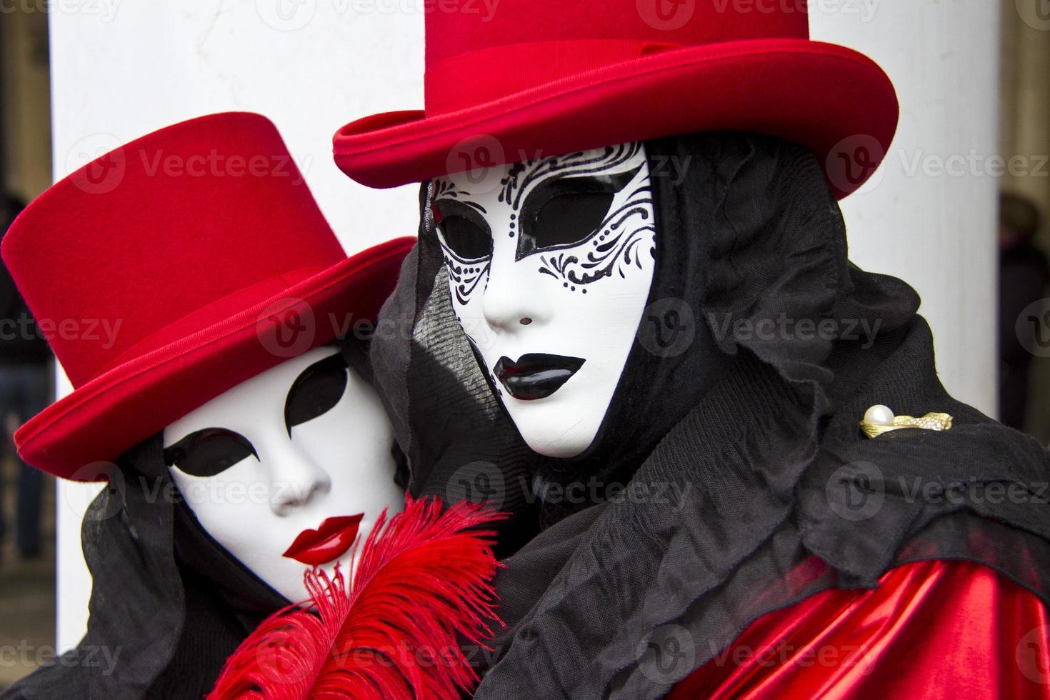 maschera a venezia foto
