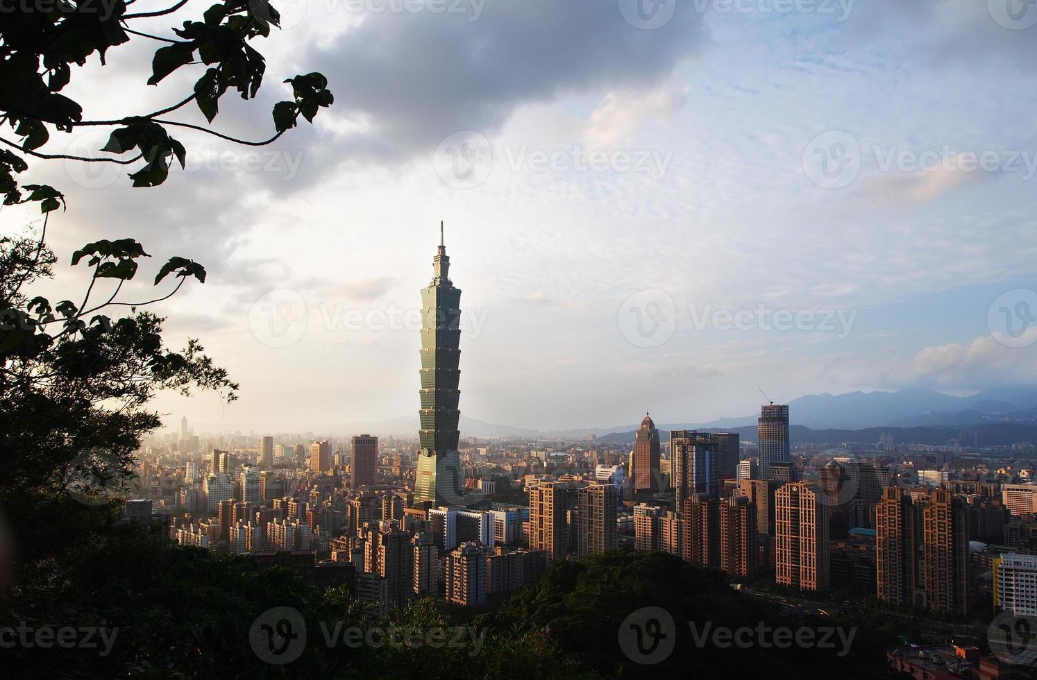 cidade de taipei foto