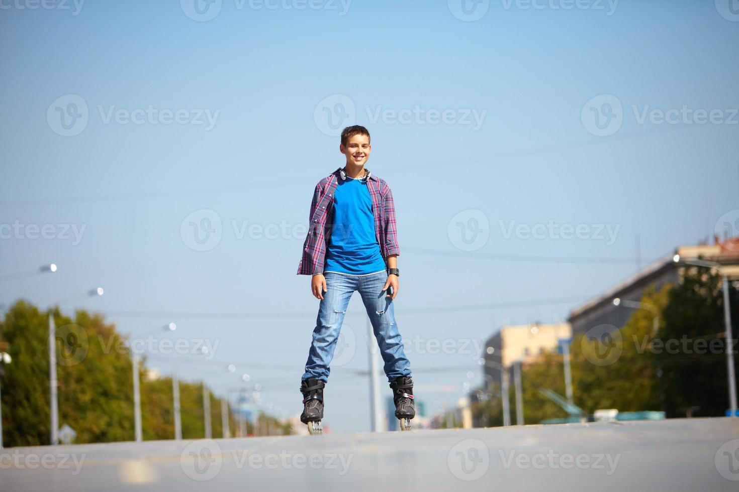 cavaleiro urbano foto
