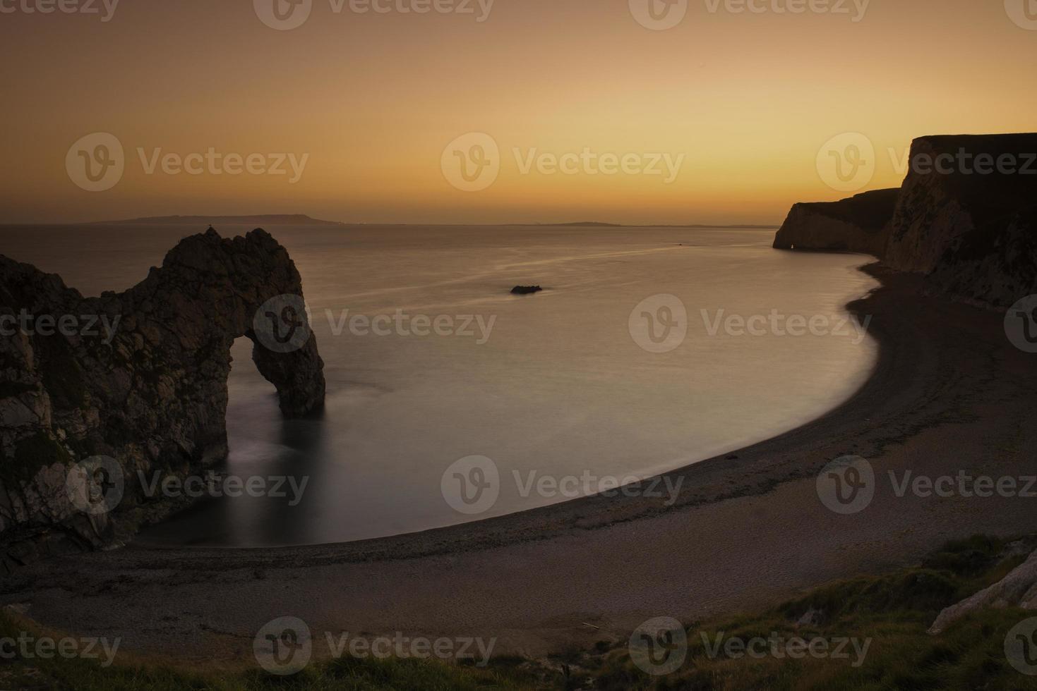 Durdle door dramático litoral jurrasic foto